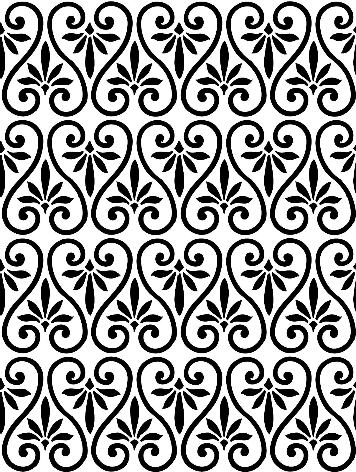 12 simple graphic patterns images easy swirl pattern