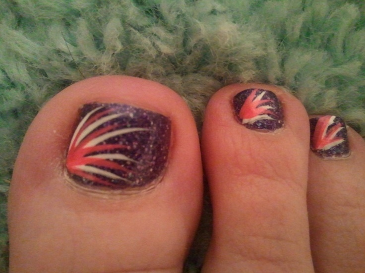 Simple Fourth Of July Nail Designs