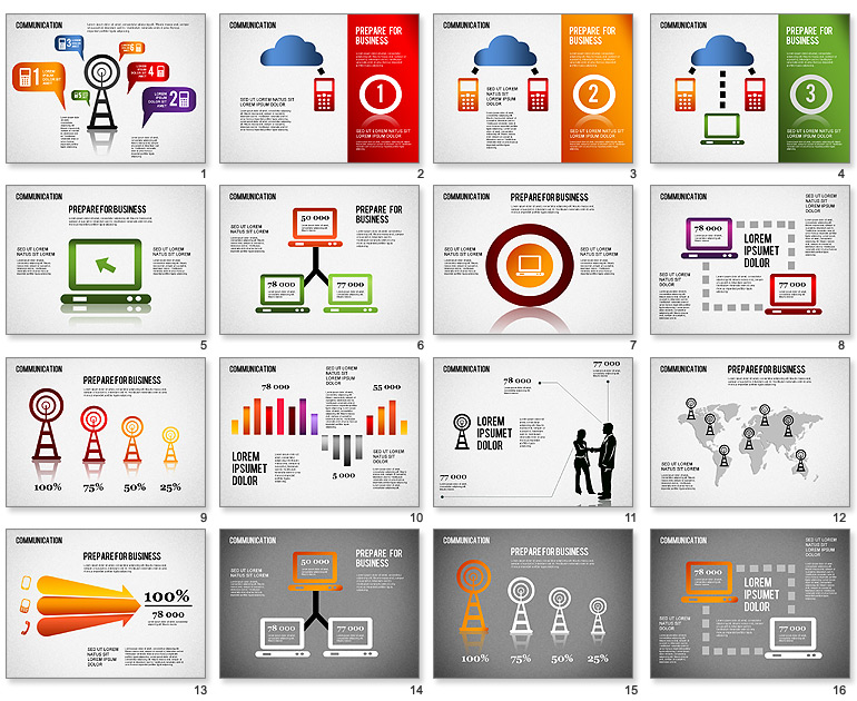 Powerpoint infographic templates free