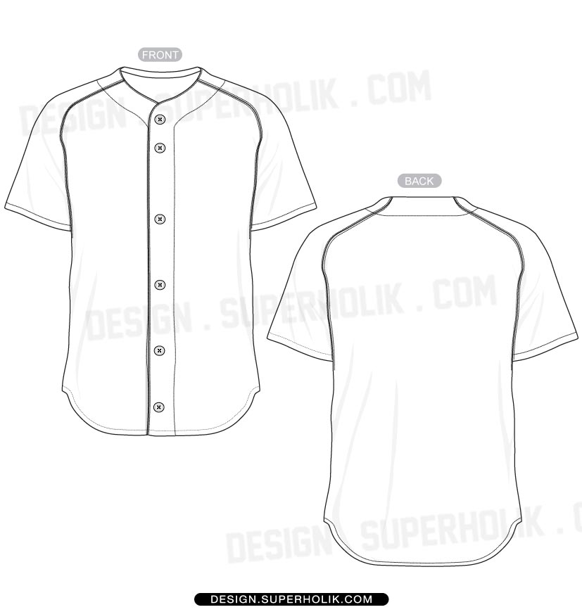 softball uniform design templates 13 baseball uniform template vector images baseball