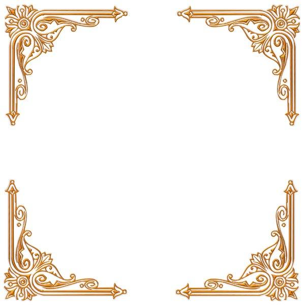 12 Elegant Victorian Background Designs Free Images Gold Border Clipart