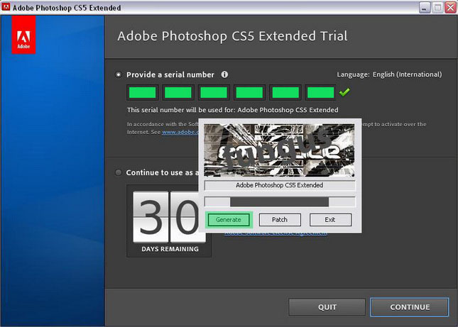 Adobe photoshop cs3 extended trial version
