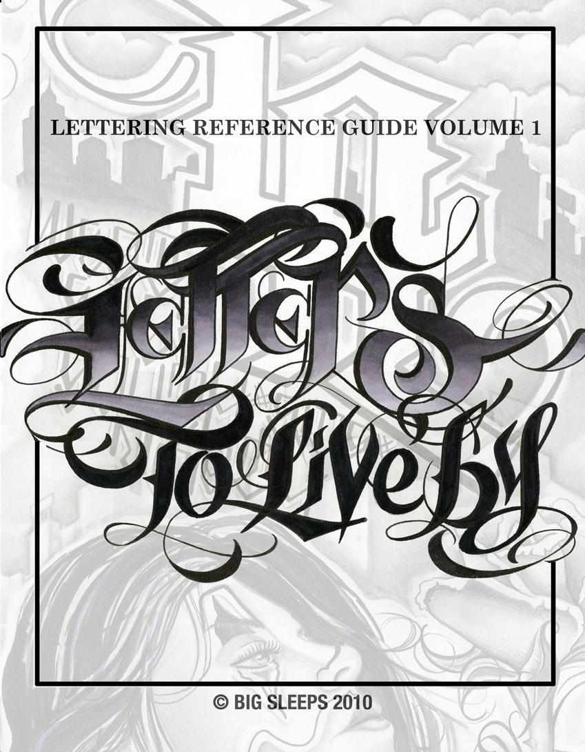 10 Original Gangsta Font Lettering Images - Original ...