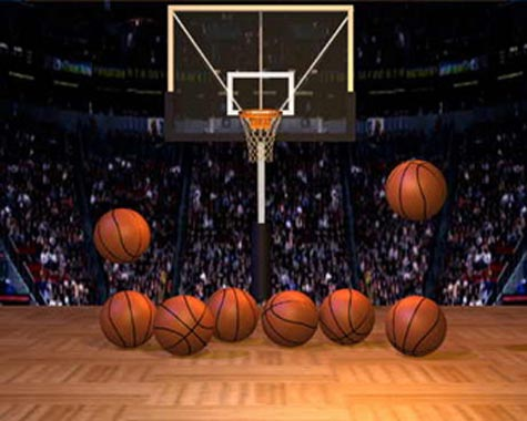 Basketball backgrounds for photoshop