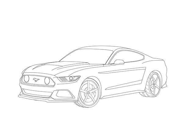 16 vector mustang 2015 images