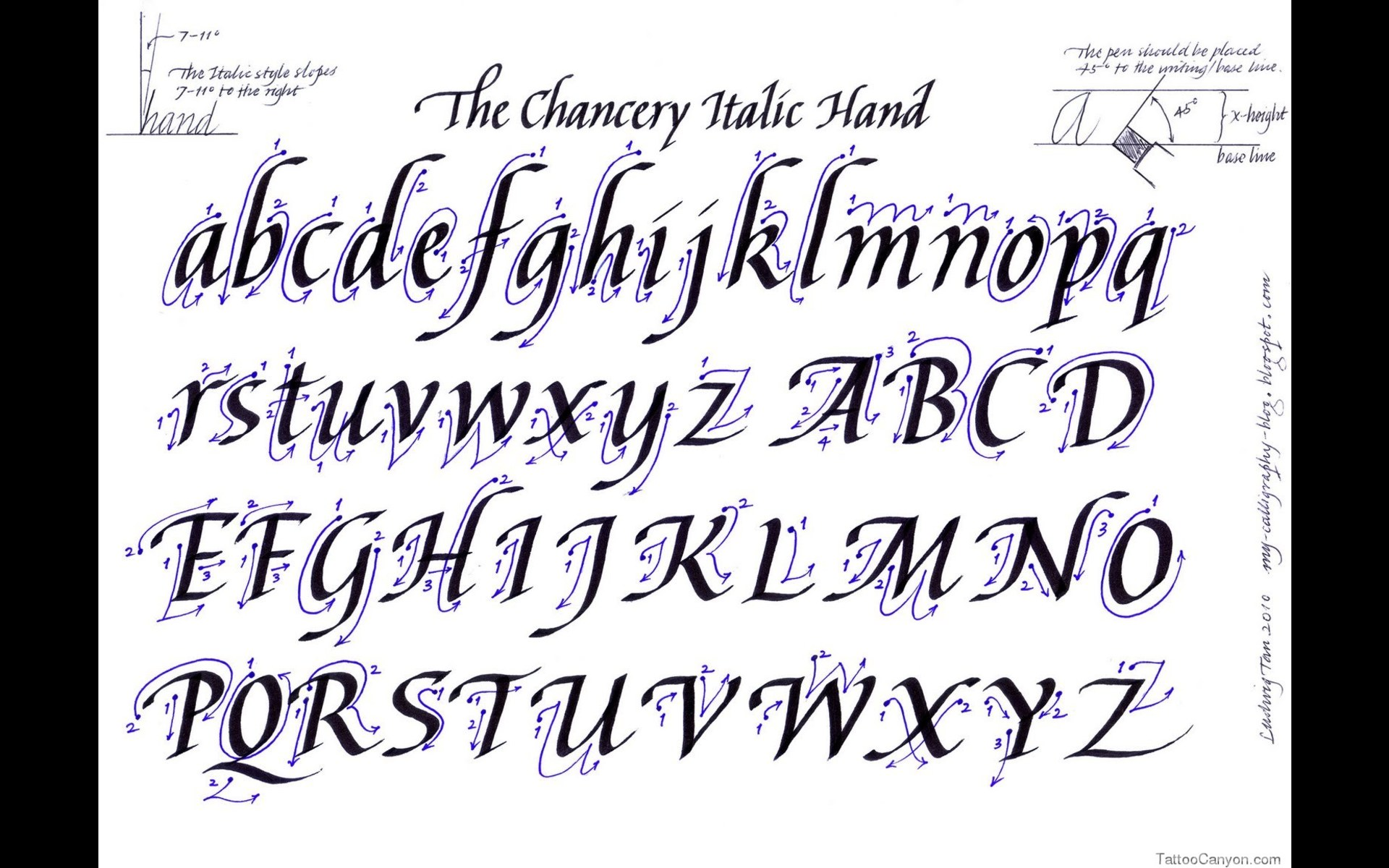 10 Fancy Calligraphy Fonts Images