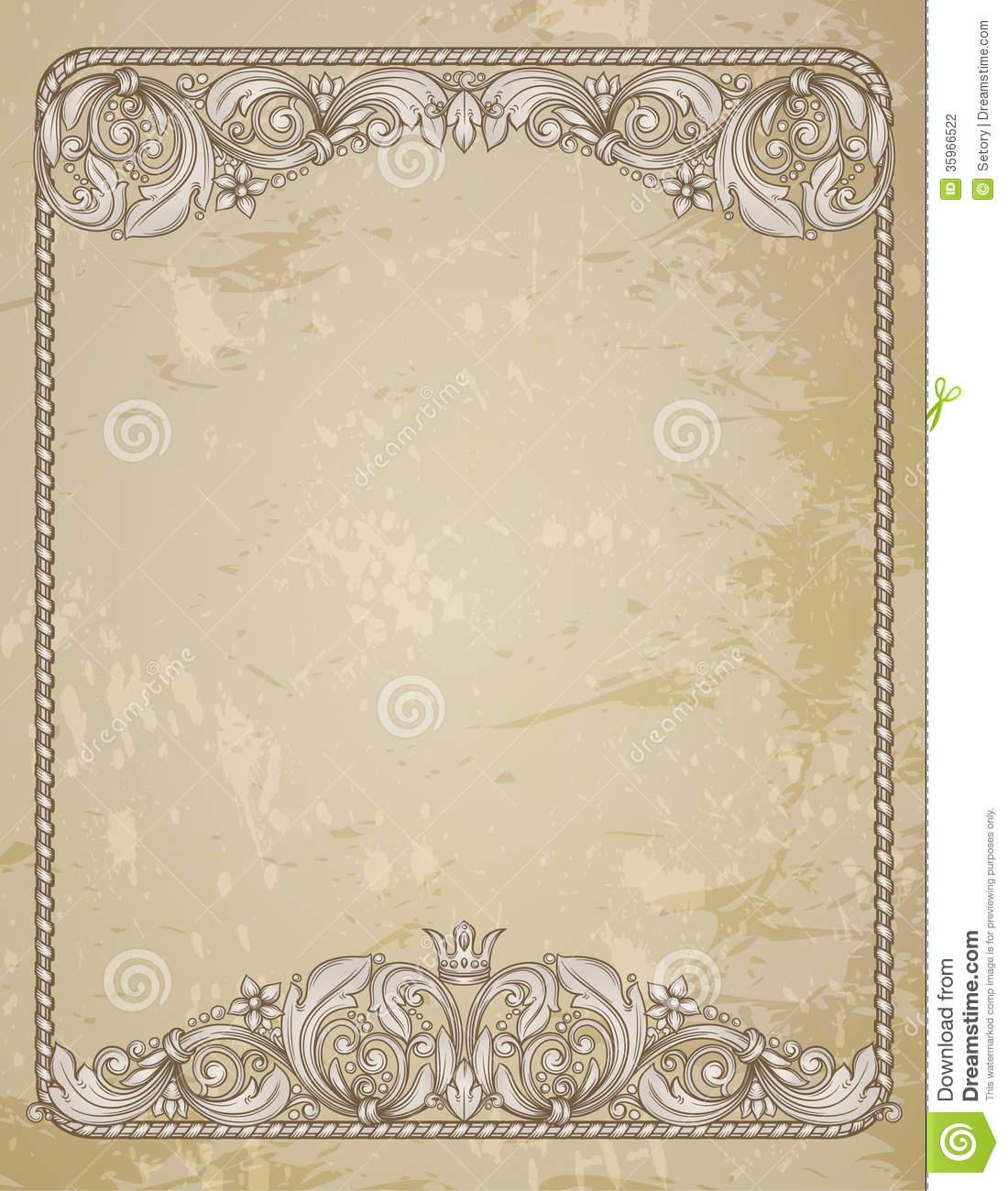 14 vintage frame border design images pink oval frame