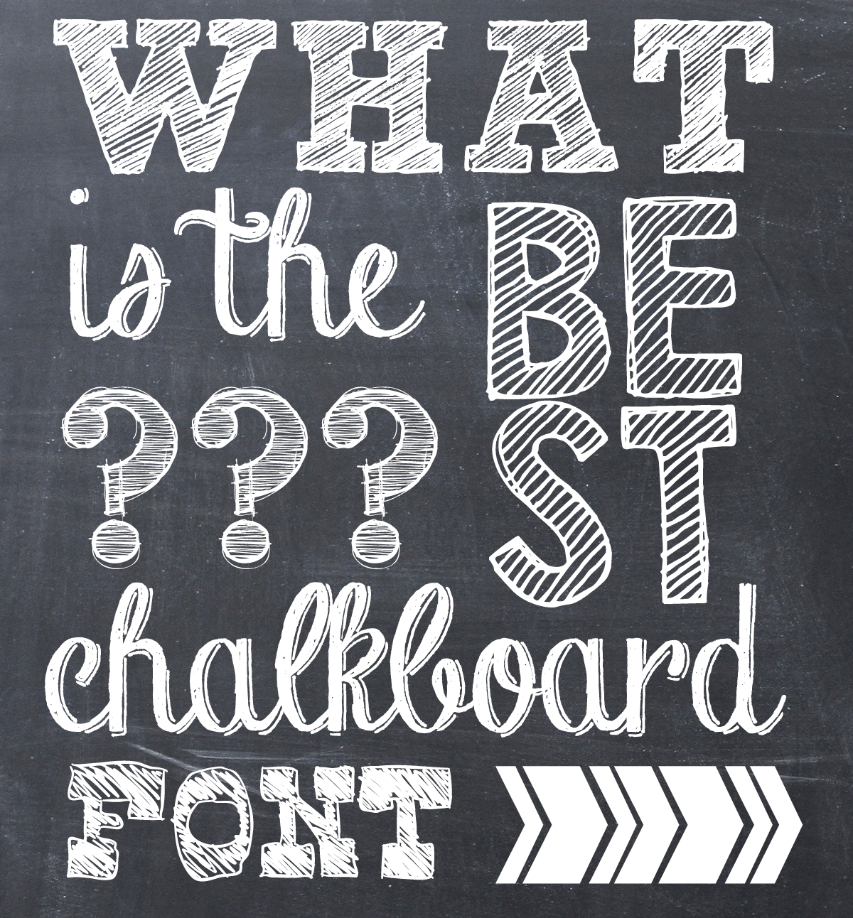 Similiar Chalk Block Font Keywords