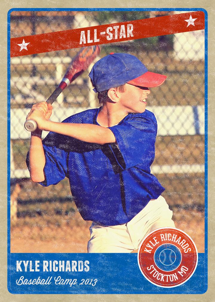 14 baseball card psd images baseball trading card for Baseball card template free